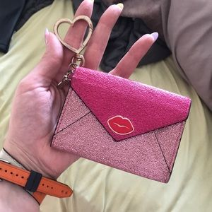 Adorable VS coin purse, worn but lots of life!